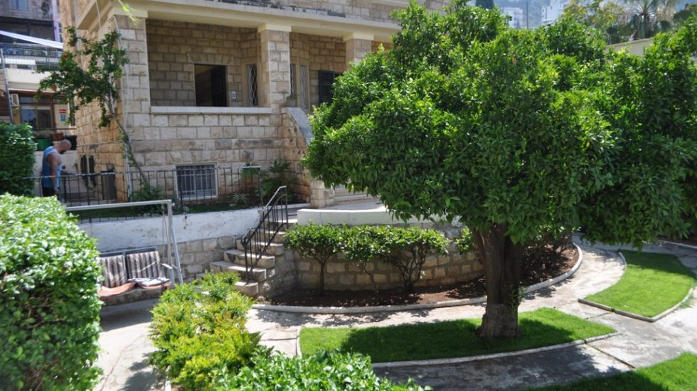 Front Of Hostel – Garden